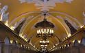 Μετρό Μόσχας, το ομορφότερο στον κόσμο! - Φωτογραφία 7
