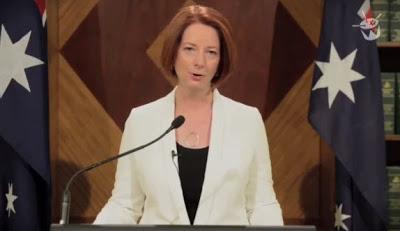 Η πρωθυπουργός της Αυστραλίας προειδοποιεί για το τέλος του κόσμου (video) - Φωτογραφία 1