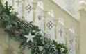 Χριστουγεννιάτικη διακόσμηση για τη σκάλα του σπιτιού σας!