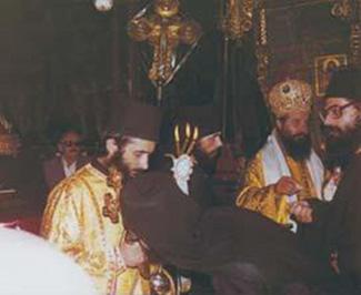 2630 - Ο Ιεραπόστολος του Κογκό π. Κοσμάς Γρηγοριάτης (1942 Θεσσαλονίκη - 27 Ιανουαρίου 1989 Κογκό) - Φωτογραφία 2