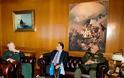 Απονομή Αστέρα Αξίας και Τιμής από τον Υπουργό Εθνικής Άμυνας κ. Πάνο Παναγιωτόπουλο στον Πρόεδρο της Στρατιωτικής Επιτροπής του ΝΑΤΟ Στρατηγό Knud Bartels