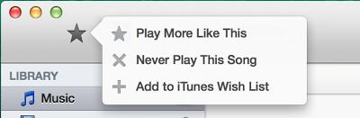 iTunes 11.1 Beta 1 με ενσωματωμένο ραδιόφωνο iTunes - Φωτογραφία 3