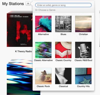 iTunes 11.1 Beta 1 με ενσωματωμένο ραδιόφωνο iTunes - Φωτογραφία 4