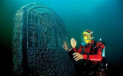 ΔΕΙΤΕ: Ανακαλυφθηκε βυθισμενη πολη που ενωνε την Ελλαδα με την Αιγυπτο!   M - Φωτογραφία 1