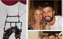 Σακίρα-Πικέ: Το τρυφερό φιλί στο αερόστατο! - Φωτογραφία 2