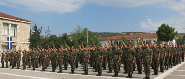 Ορκωμοσία Δ΄ ΕΣΣΟ του 2013 στο Κέντρο Εκπαίδευσης Υλικού Πολέμου στη Λαμία - Φωτογραφία 3