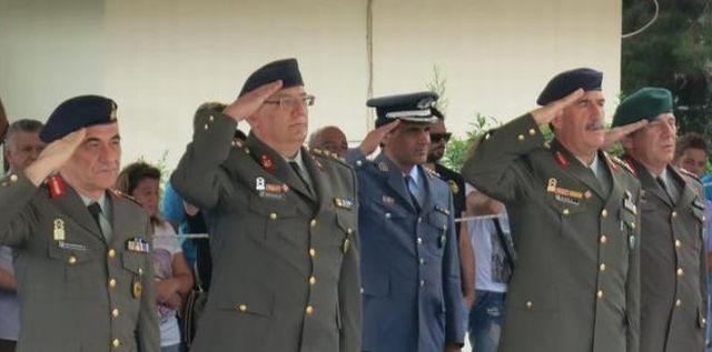 Ορκωμοσία Δ΄ ΕΣΣΟ του 2013 στο Κέντρο Εκπαίδευσης Υλικού Πολέμου στη Λαμία - Φωτογραφία 4