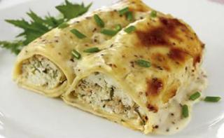 H συνταγή της ημέρας: Κανελόνια με τόνο και μείγμα τυριών - Φωτογραφία 1