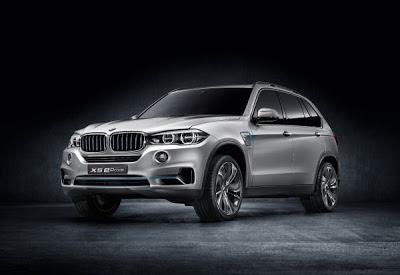 BMW Concept X5 eDrive: Το BMW eDrive συναντά το BMW xDrive - Φωτογραφία 1