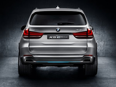 BMW Concept X5 eDrive: Το BMW eDrive συναντά το BMW xDrive - Φωτογραφία 2