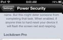 Power Security: Cydia tweak new ($0.99) - Φωτογραφία 3