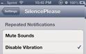 SilencePlease : Cydia tweak v 1,1 - 7 ($0.99)