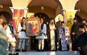 3767 - Υποδοχή αντιγράφου Ιεράς Εικόνας Παναγίας Παντανάσσης στο Αγρίνιο (Φωτο)