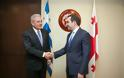 Δηλώσεις ΥΕΘΑ Δημήτρη Αβραμόπουλου και Υπουργού Άμυνας της Γεωργίας Ιrakli Αlasania μετά τη συνάντησή τους στην Τιφλίδα - Φωτογραφία 4