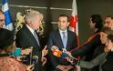 Δηλώσεις ΥΕΘΑ Δημήτρη Αβραμόπουλου και Υπουργού Άμυνας της Γεωργίας Ιrakli Αlasania μετά τη συνάντησή τους στην Τιφλίδα - Φωτογραφία 5
