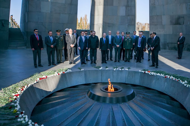 Ολοκλήρωση επίσημης επίσκεψης ΥΕΘΑ Δημήτρη Αβραμόπουλου στην Αρμενία - Φωτογραφία 4