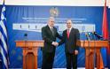 Ολοκλήρωση επίσημης επίσκεψης ΥΕΘΑ Δημήτρη Αβραμόπουλου στην Αρμενία