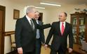 Ολοκλήρωση επίσημης επίσκεψης ΥΕΘΑ Δημήτρη Αβραμόπουλου στην Αρμενία - Φωτογραφία 8