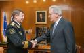 Συνάντηση ΥΕΘΑ Δημήτρη Αβραμόπουλου με τον Αρχηγό του Πολεμικού Ναυτικού της Ρωσικής Ομοσπονδίας