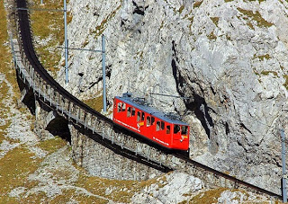 Η πιο απότομη σιδηροδρομική γραμμή στον κόσμο! - Φωτογραφία 1
