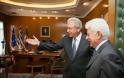 Συνάντηση ΥΕΘΑ Δημήτρη Αβραμόπουλου με το νέο Πρέσβη της Κυπριακής Δημοκρατίας Φαίδωνα Αναστασίου