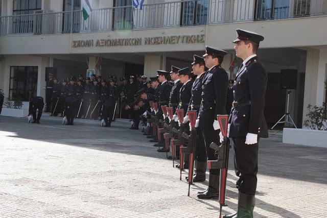 Τελετή ορκωμοσίας των νέων Αξιωματικών στη Σχολή Αξιωματικών Νοσηλευτικής - Φωτογραφία 24