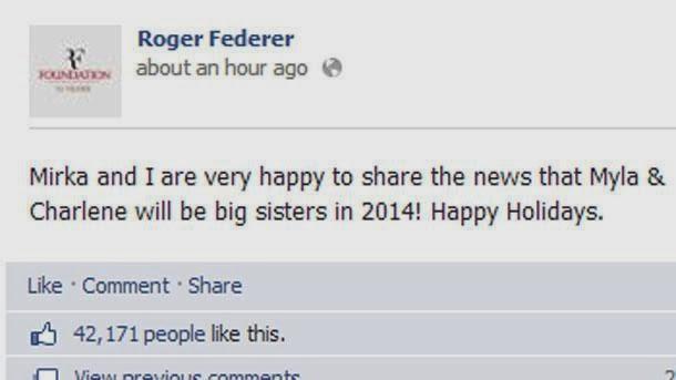 Ξανά μπαμπάς ο Ρότζερ Φέντερερ - Φωτογραφία 2