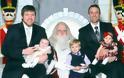 ΑΠΙΘΑΝΕΣ ΕΙΚΟΝΕΣ: Με τον Άγιο Βασίλη από το 1980 έως και σήμερα - Φωτογραφία 13