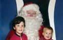 ΑΠΙΘΑΝΕΣ ΕΙΚΟΝΕΣ: Με τον Άγιο Βασίλη από το 1980 έως και σήμερα - Φωτογραφία 2