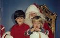 ΑΠΙΘΑΝΕΣ ΕΙΚΟΝΕΣ: Με τον Άγιο Βασίλη από το 1980 έως και σήμερα - Φωτογραφία 3