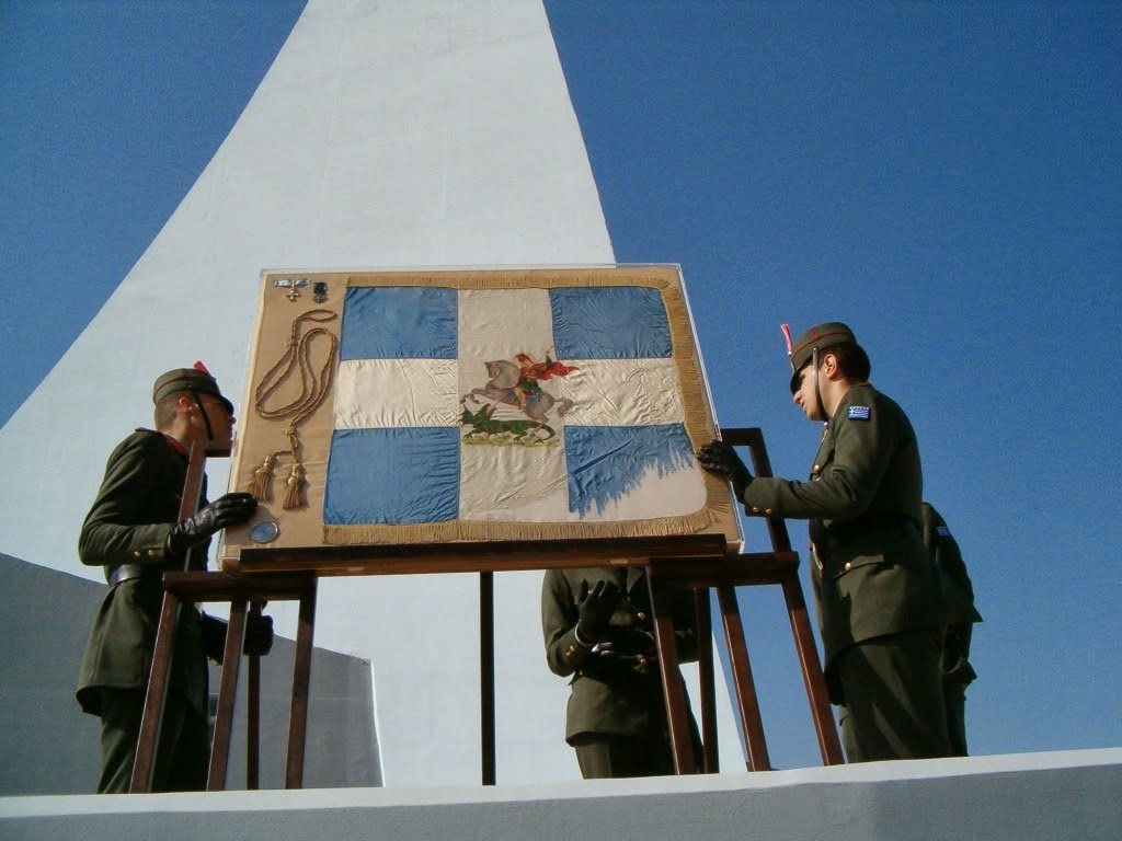 Αποκαλυπτήρια του μνημείου του Υψώματος 731 - Φωτογραφία 6