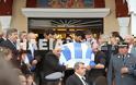 Ανδραβίδα: Χιλιάδες πολίτες αποχαιρέτισαν τον ήρωα αστυνομικό Βασίλη Μαρτζάκλη - Φωτογραφία 8