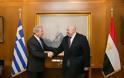 Συνάντηση ΥΕΘΑ Δημήτρη Αβραμόπουλου με τον Πρέσβη της Αιγύπτου