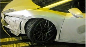 Τροχαίο με Lamborghini αξίας 200.000 ευρώ - Φωτογραφία 2