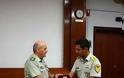 Επίσκεψη της IV Τάξης της Στρατιωτικής Σχολής Ευελπίδων στην 1η ΣΤΡΑΤΙΑ