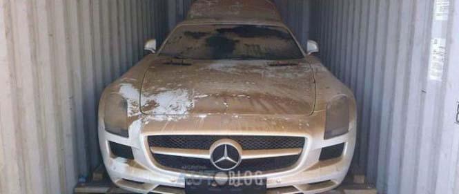Μια πανάκριβη Mercedes που είχε άδοξο και αναπάντεχο τέλος - Φωτογραφία 2