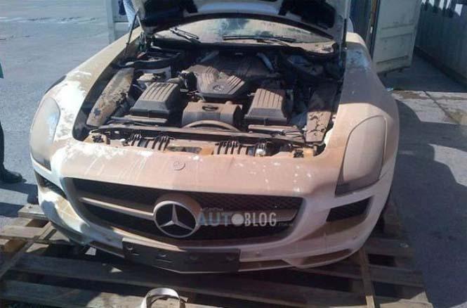 Μια πανάκριβη Mercedes που είχε άδοξο και αναπάντεχο τέλος - Φωτογραφία 3
