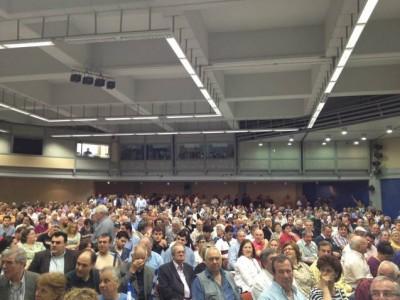 Κατάμεστο το ΣΕΦ στην ομιλία του Κ. Κατσαφάδου - Φωτογραφία 1