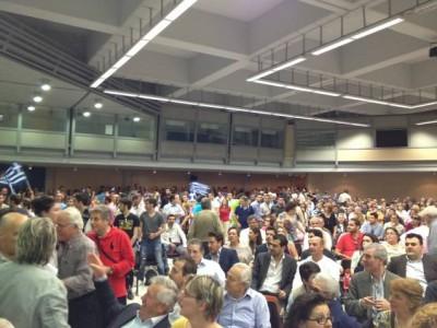 Κατάμεστο το ΣΕΦ στην ομιλία του Κ. Κατσαφάδου - Φωτογραφία 3