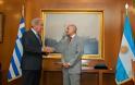 Συνάντηση ΥΕΘΑ Δημήτρη Αβραμόπουλου με τον Πρέσβη της Αργεντινής