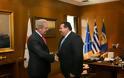 Συνάντηση ΥΕΘΑ Δημήτρη Αβραμόπουλου με το νέο Πρέσβη της Κυπριακής Δημοκρατίας