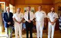 Επίσκεψη Διοικητού Υδρογραφικής Υπηρεσίας Ηνωμένου Βασιλείου