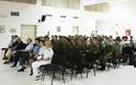 O Άγιος της πολιτικής στη Σχολή Αξιωματικών Νοσηλευτικής