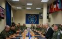 Ολοκλήρωση Επίσκεψης ΥΕΘΑ Δημήτρη Αβραμόπουλου σε 1η Στρατιά, Ε/ΕΣΕΕ & ΑΤΑ