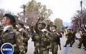 Φωτό από τη Στρατιωτική παρέλαση στη Χίο