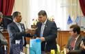 Ο δήμος Άργους υποδέχθηκε με τιμές την αντιπροσωπεία από την Κύπρο - Φωτογραφία 2