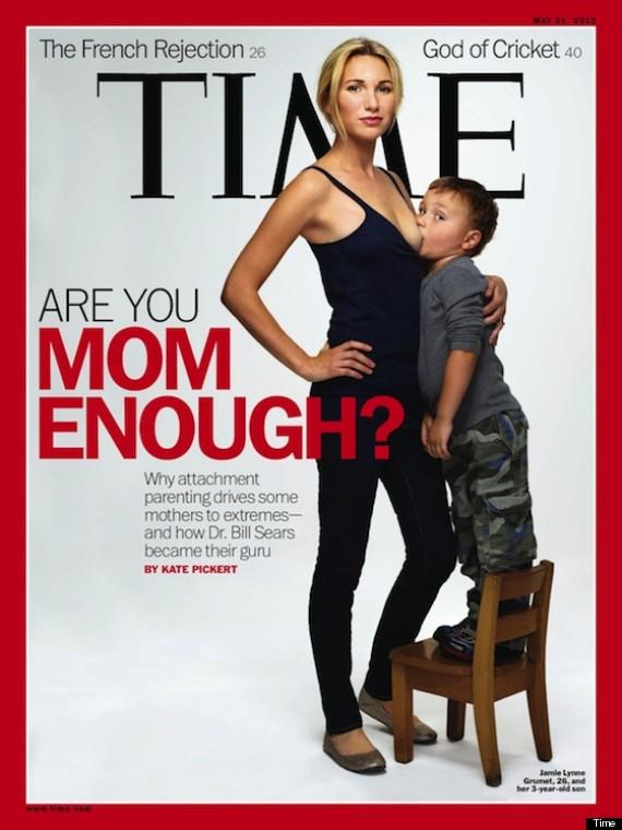 Θύελλα αντιδράσεων για το εξώφυλλο του Time με τον 3χρονο που θηλάζει - Φωτογραφία 2