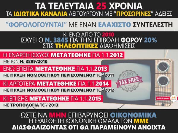Όχι δεν είναι ψέμα - Δείτε αναλυτικά τα αστρονομικά χρέη των Ελληνικών καναλιών και θα φρίξετε... [photos] - Φωτογραφία 3