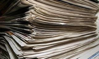 Έτσι μπορείτε να αξιοποιήσετε τις παλιές σας εφημερίδες... - Φωτογραφία 1