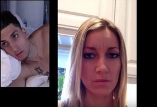 Μίλαγε με την κοπέλα του με βιντεοκλήση ενώ είχε την γκόμενα του στο κρεβάτι! ΔΕΙΤΕ τι έγινε… [video] - Φωτογραφία 1